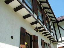 Hungarian House half-timbered architecture 806 detail information