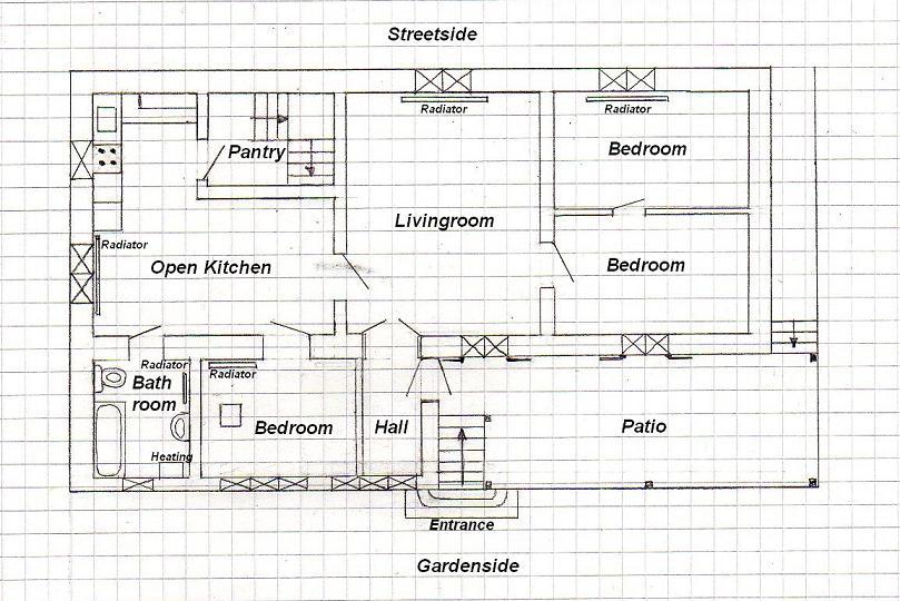 Plattegrond Kleine Keuken : Google map, hoe is het huis gepositioneerd t.o.v. de omgeving