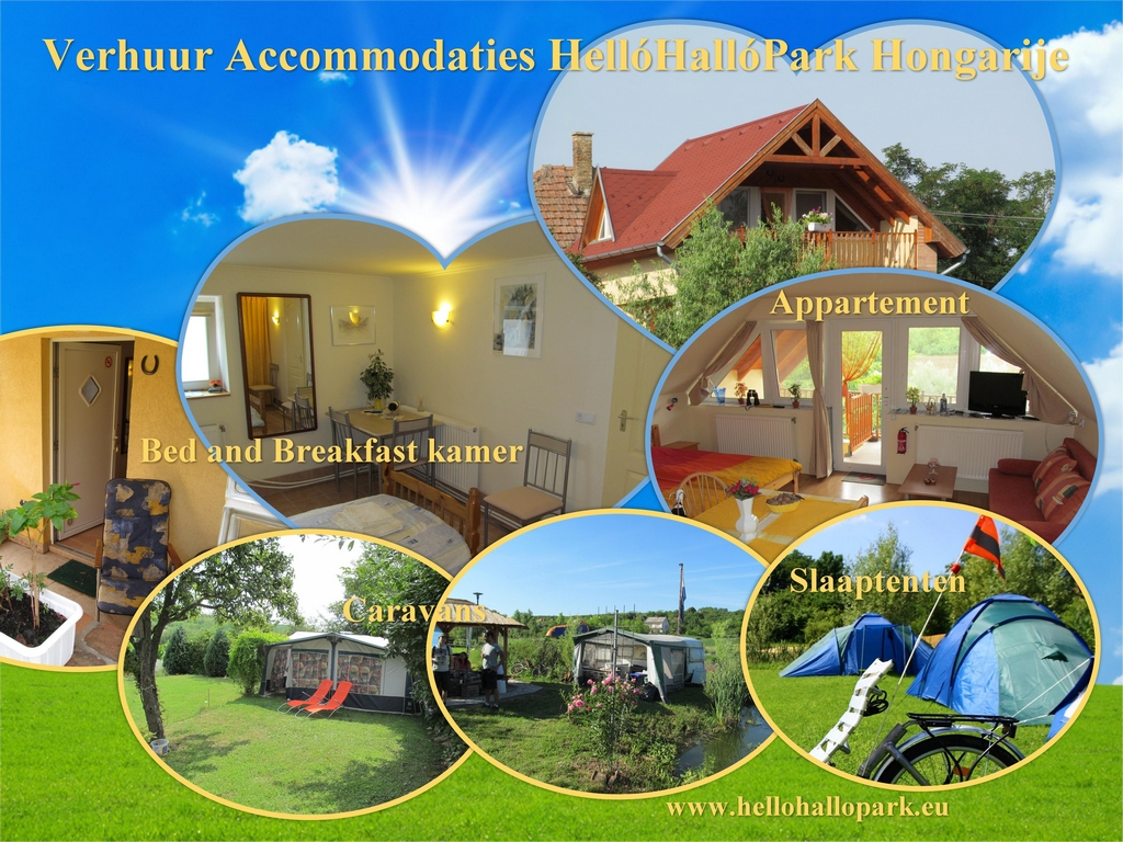 Rentals For rent, Holiday Accommodations HelloHalloPark Hungary